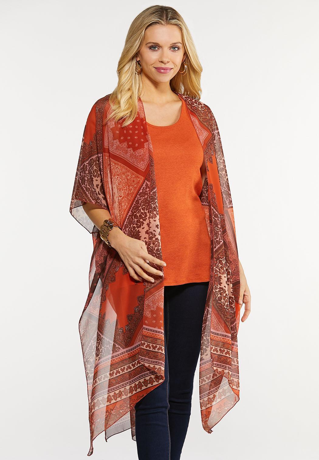 Paisley Patchwork Kimono