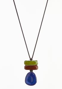 Statement Pendant Cord Necklace