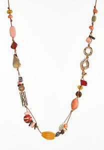 Long Assorted Bead Necklace