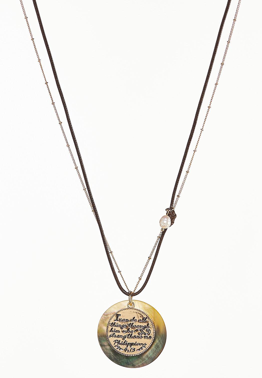 Philippians Pendant Necklace
