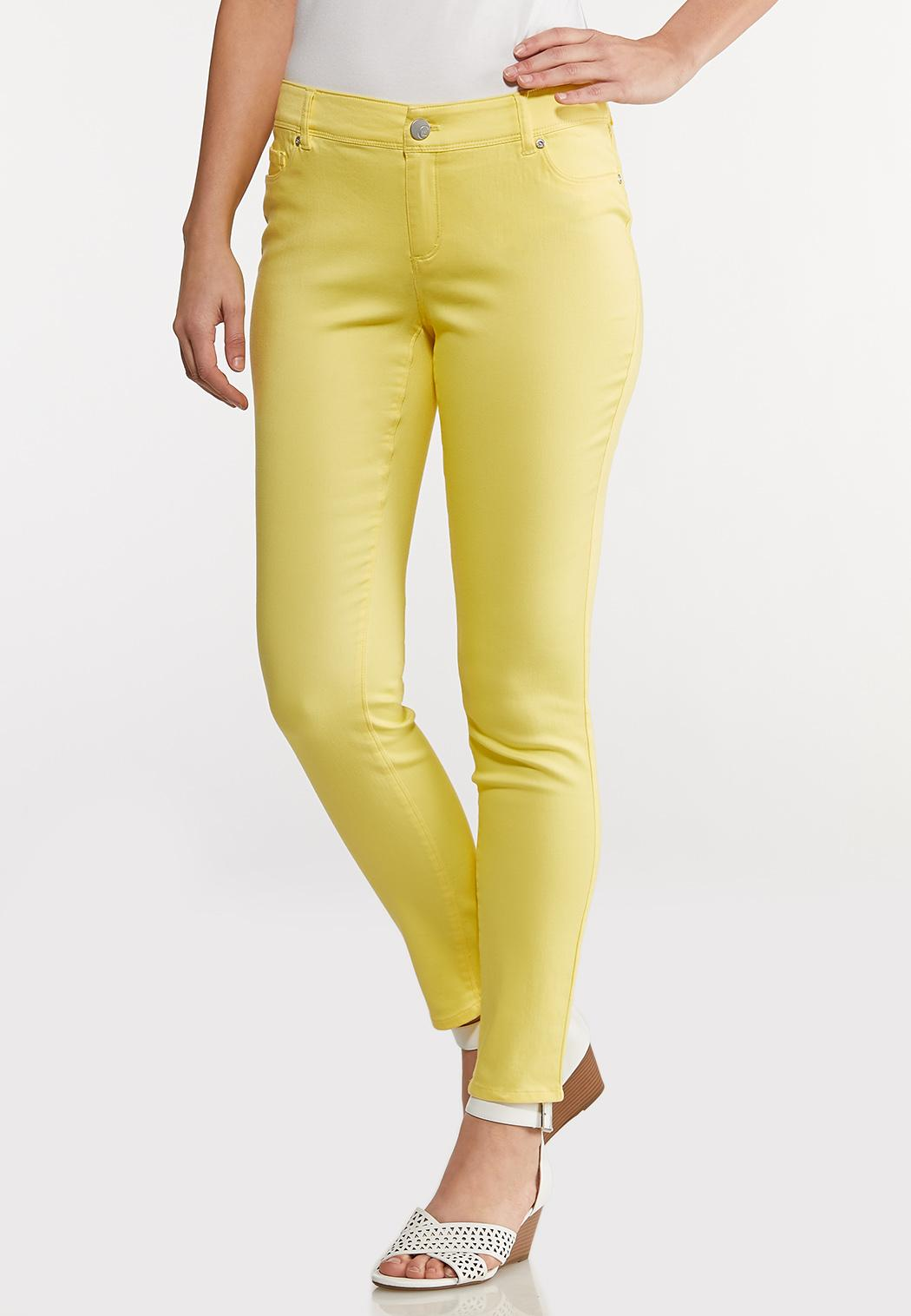 Uplifting Colored Jeggings
