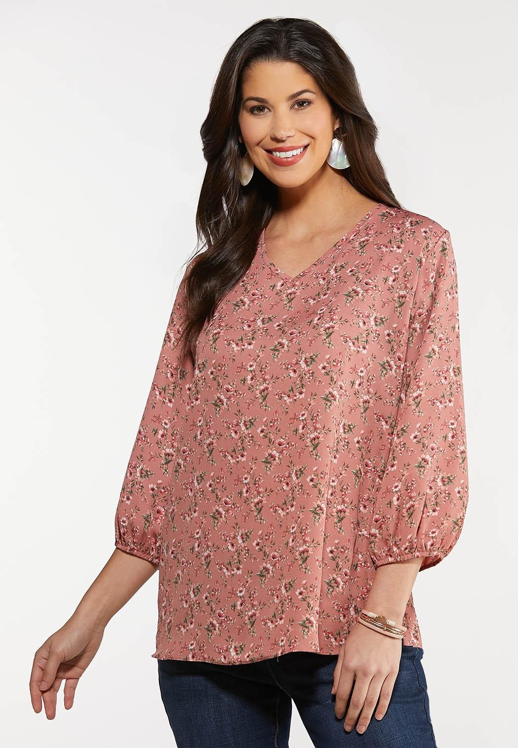 Plus Size Romantic Rose Top