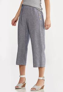 Sailor Stripe Linen Pants
