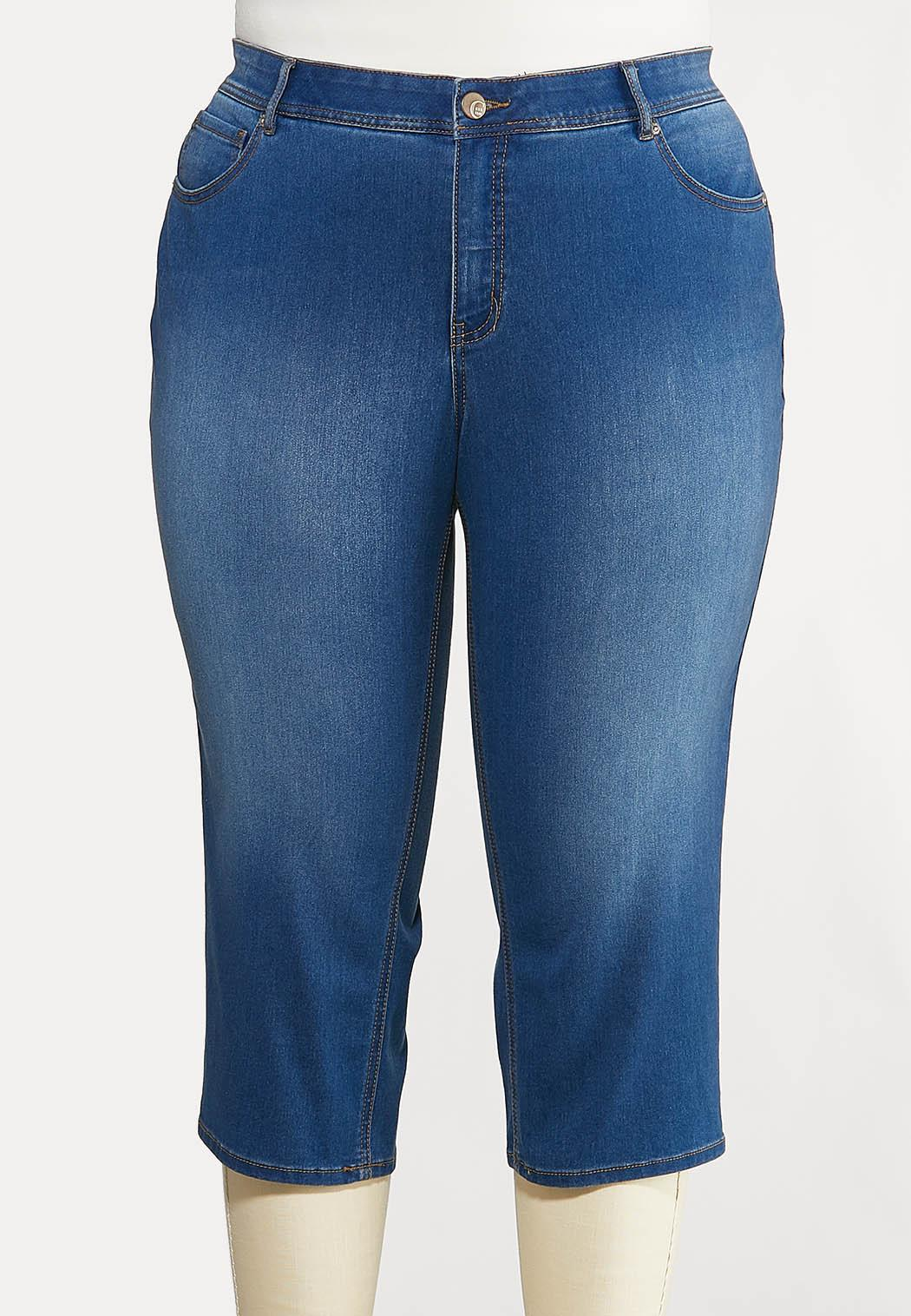 Plus Size The Perfect Curvy Cropped Jeans