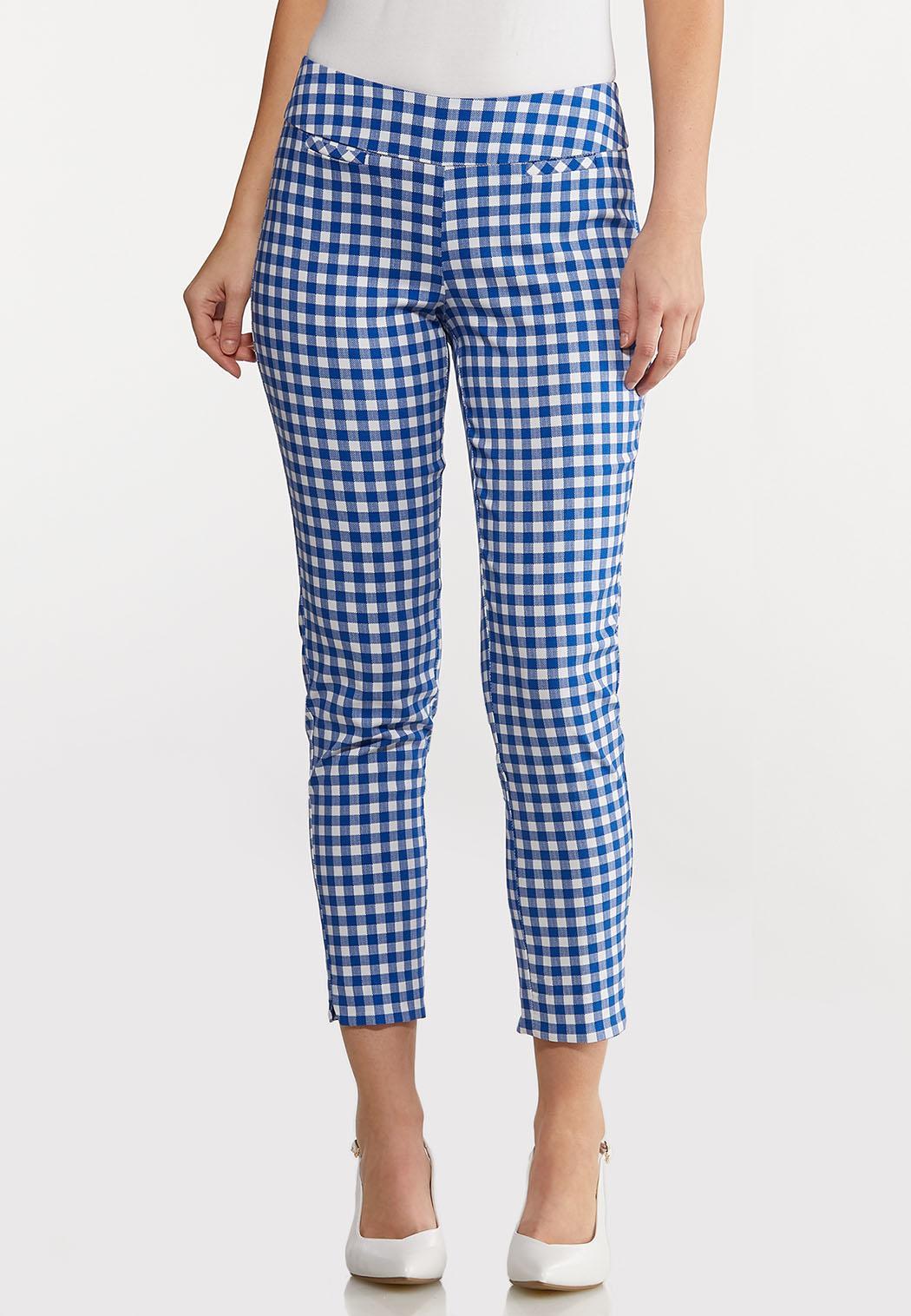 Gingham Bengaline Pants