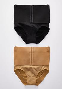 Cinched Waist Brief Set
