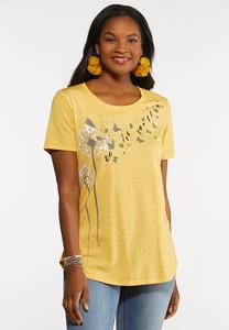 Plus Size Go With The Flow Tee