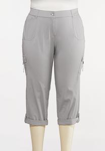 Plus Size Cargo Utility Pants