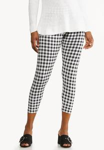 Gingham Capri Leggings