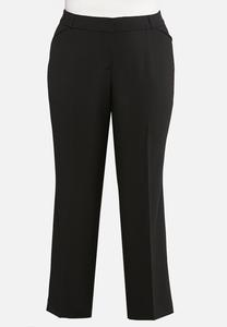 Plus Size Curvy Shape Enhancing Trousers