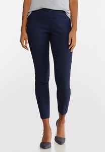 Petite Bengaline Ankle Pants