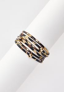 Leopard Band Magnetic Bracelet