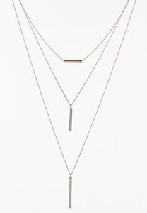 Layered Bar Necklace
