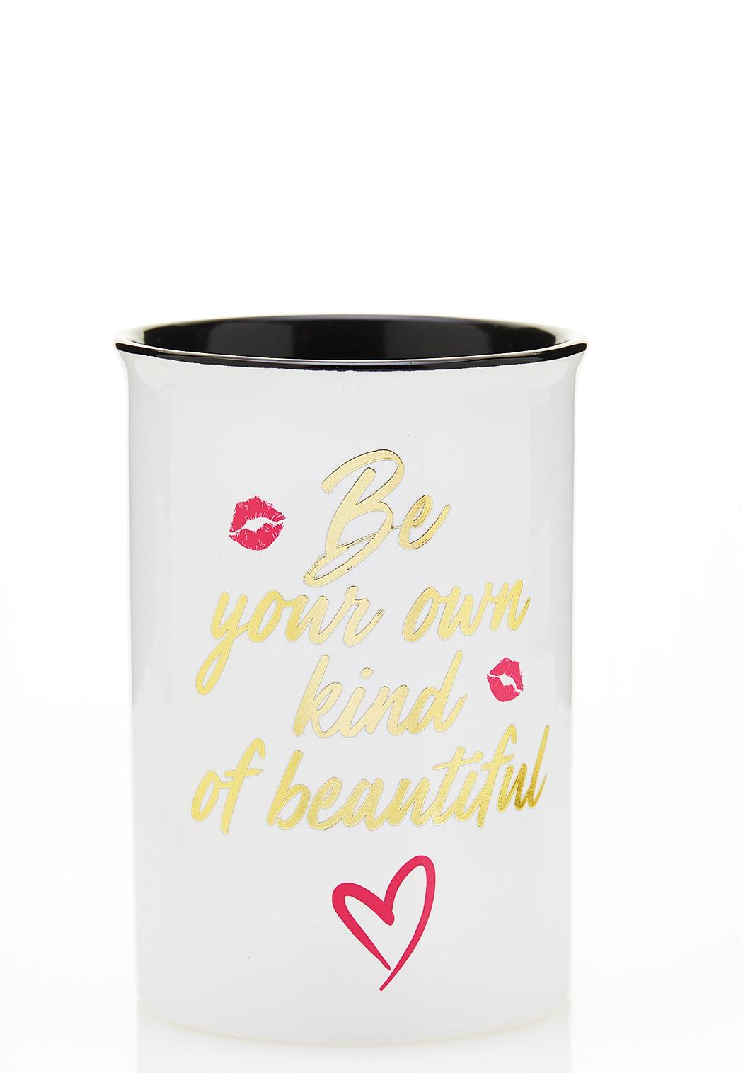 Be Beautiful Ceramic Holder