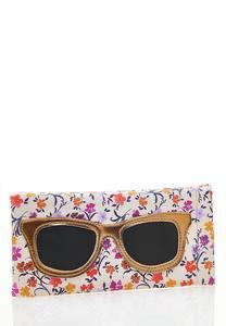 Floral Sunglasses Case