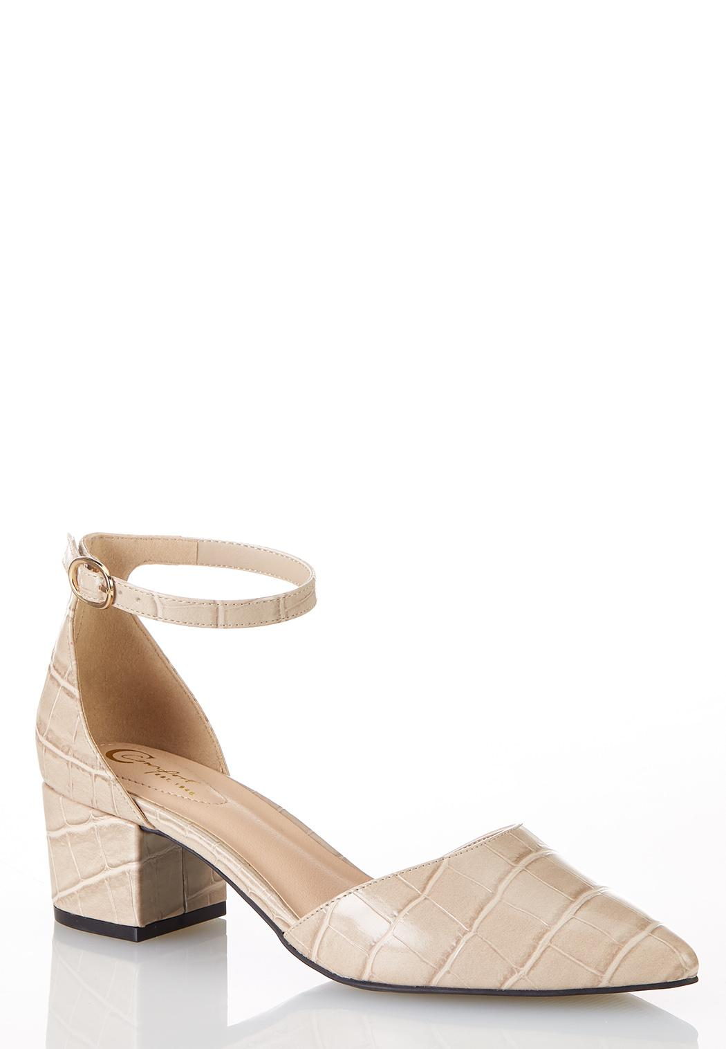 Croc Two Piece Pumps