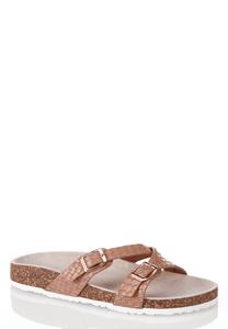 Multi Buckle Strap Sandals