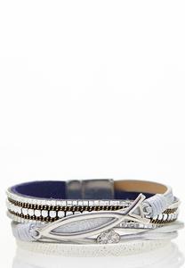 Fish Symbol Inspirational Bracelet
