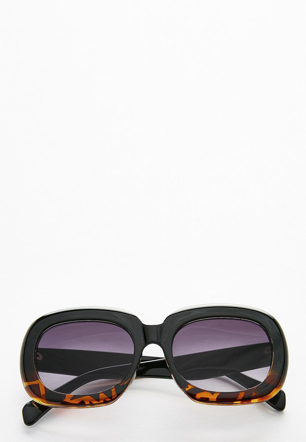 Tort Bottom Square Sunglasses
