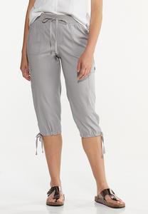 Cropped Utility Pants