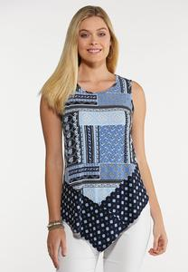 Pointed Patchwork Tank