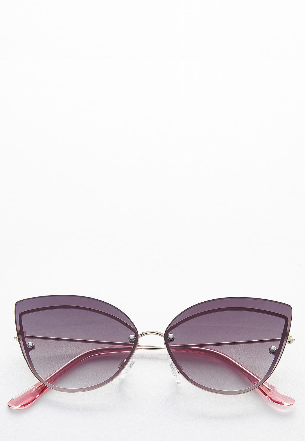 Frame Back Cateye Sunglasses