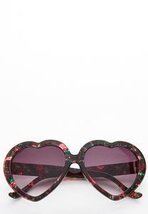 Floral Heart Sunglasses