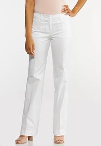 Sateen Trouser Pants