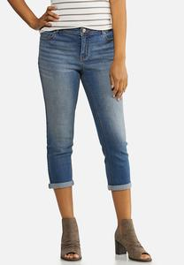 Cropped Curvy Skinny Jeans
