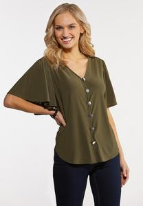 Olive High-Low Top