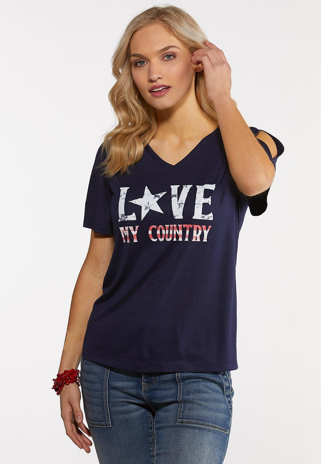Love My Country Tee