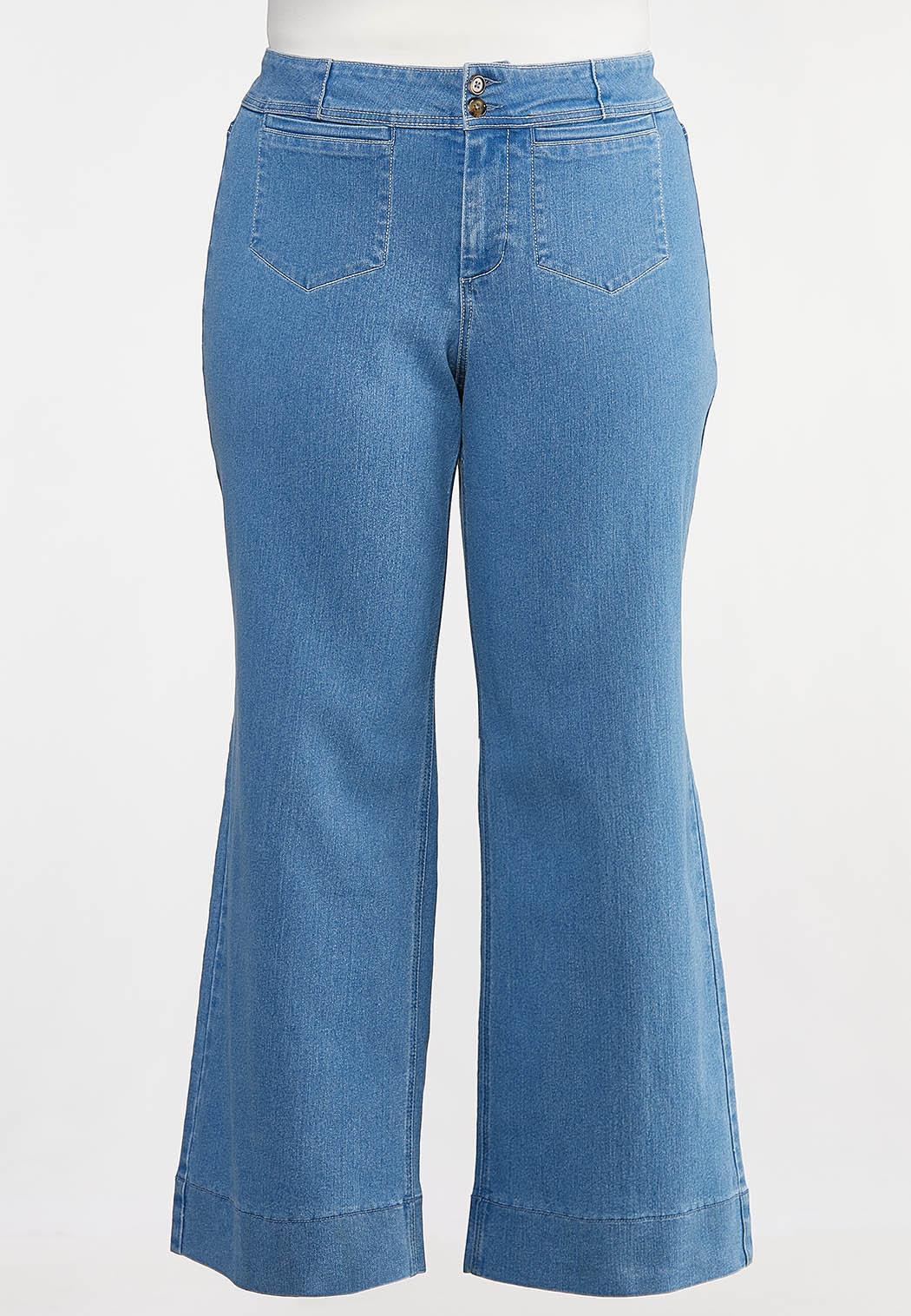 Plus Petite Stitched Trouser Jeans