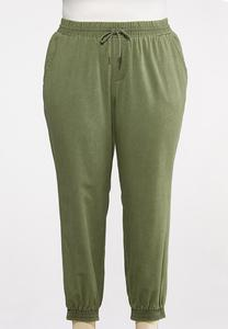 Plus Size Casual Joggers