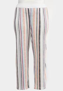 Plus Petite Faded Rainbow Stripe Pants