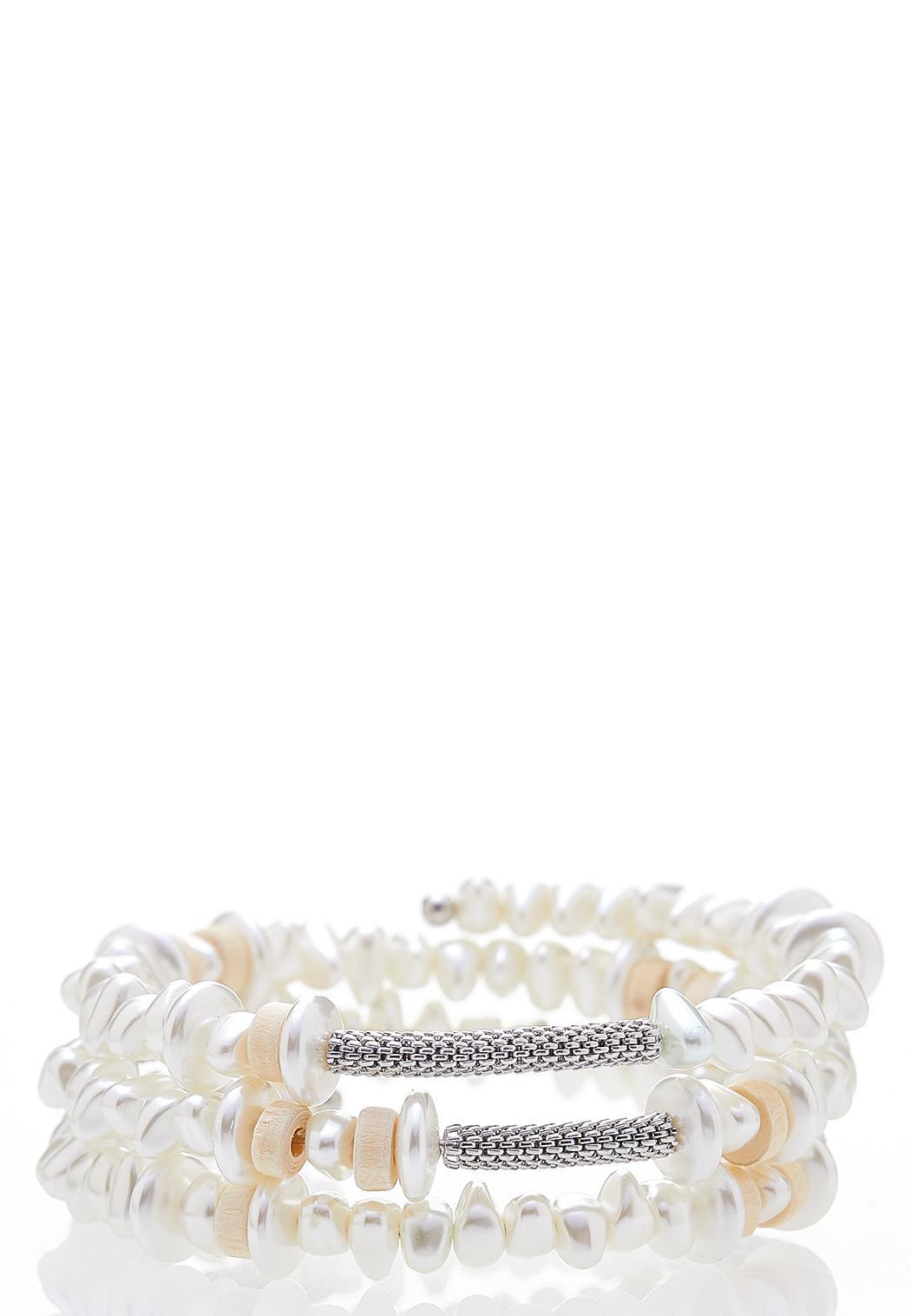 Ivory Coil Bracelet
