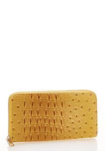 Yellow Ostrich Wallet
