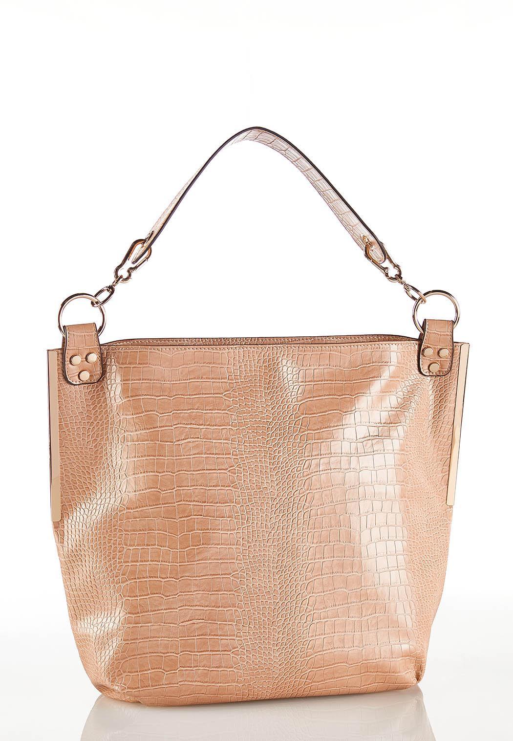 Croc Hobo Handbag