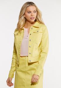 Color Denim Jacket