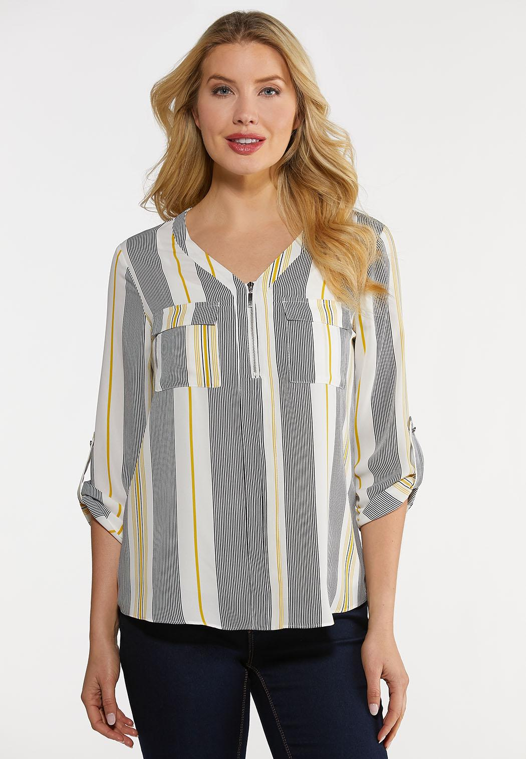Striped Equipment Top