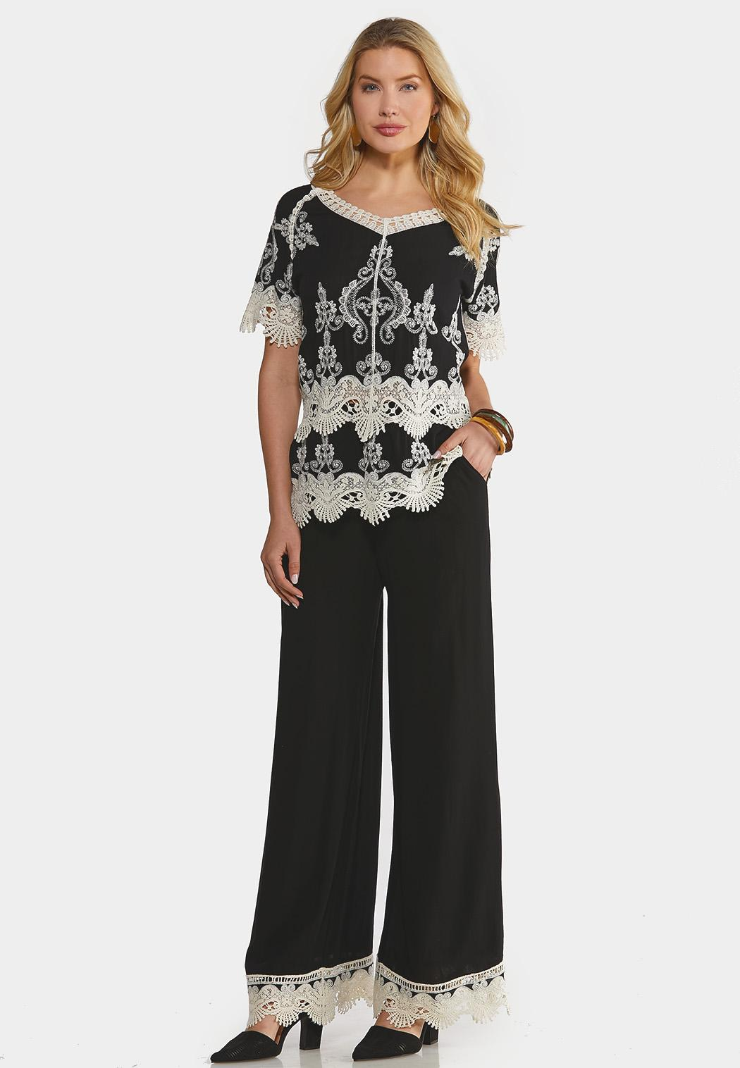 Crochet Lace Coordinating Set