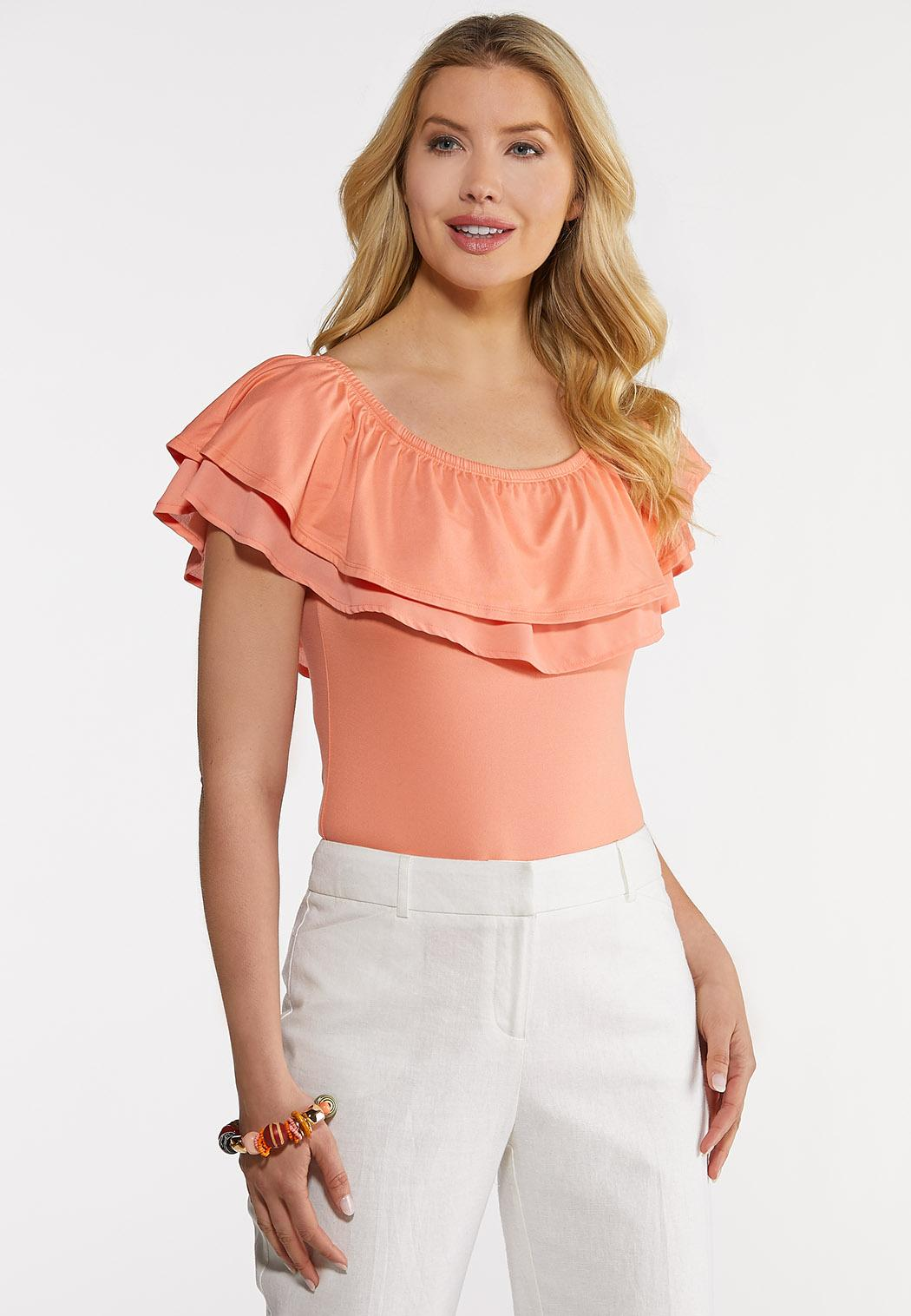 Double Ruffle Bodysuit