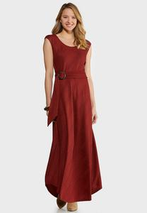 Petite Ribbed Maxi Dress
