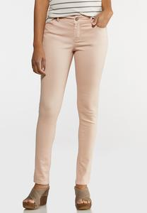 Blush Skinny Jeans