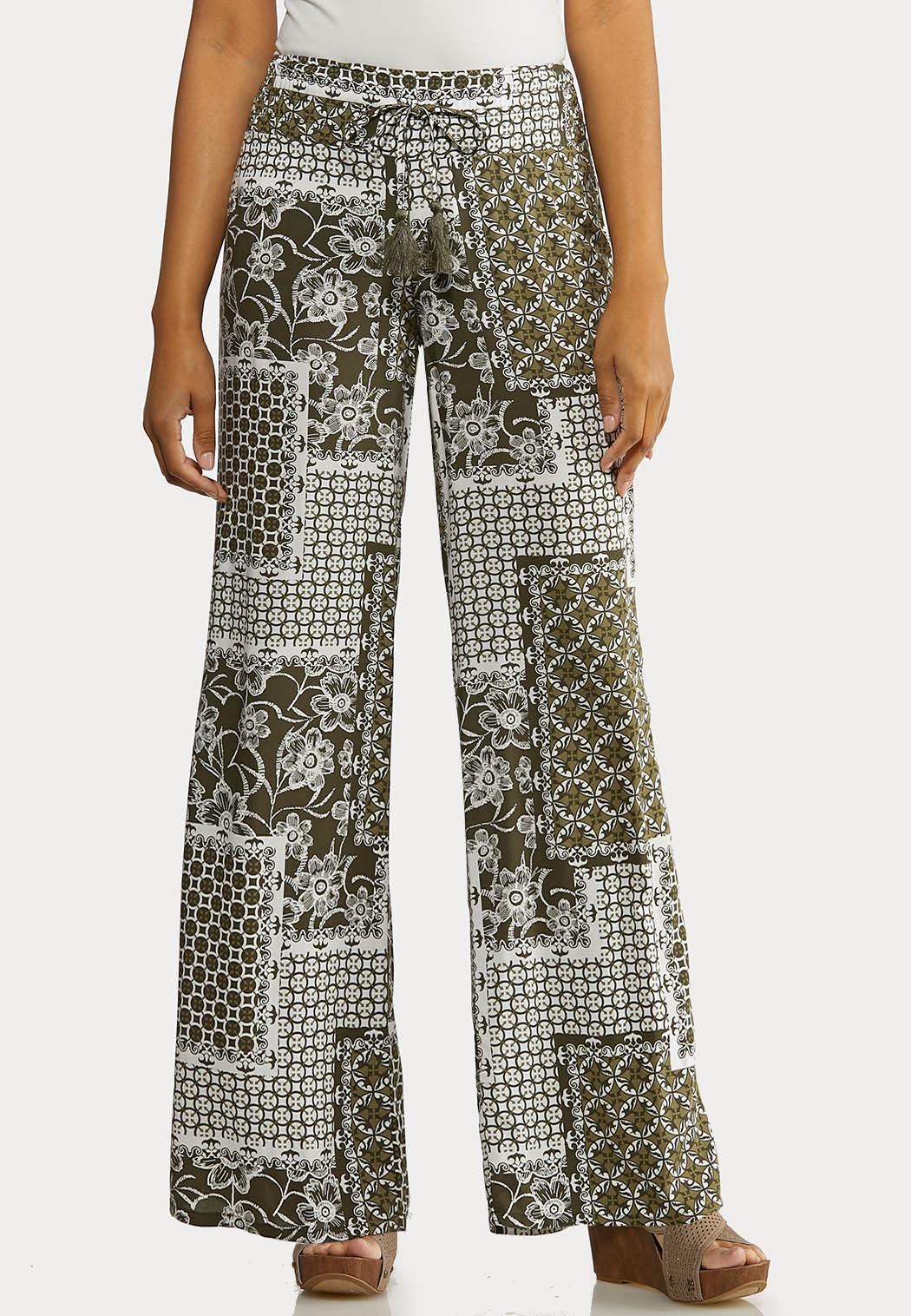 Summer Patchwork Pants