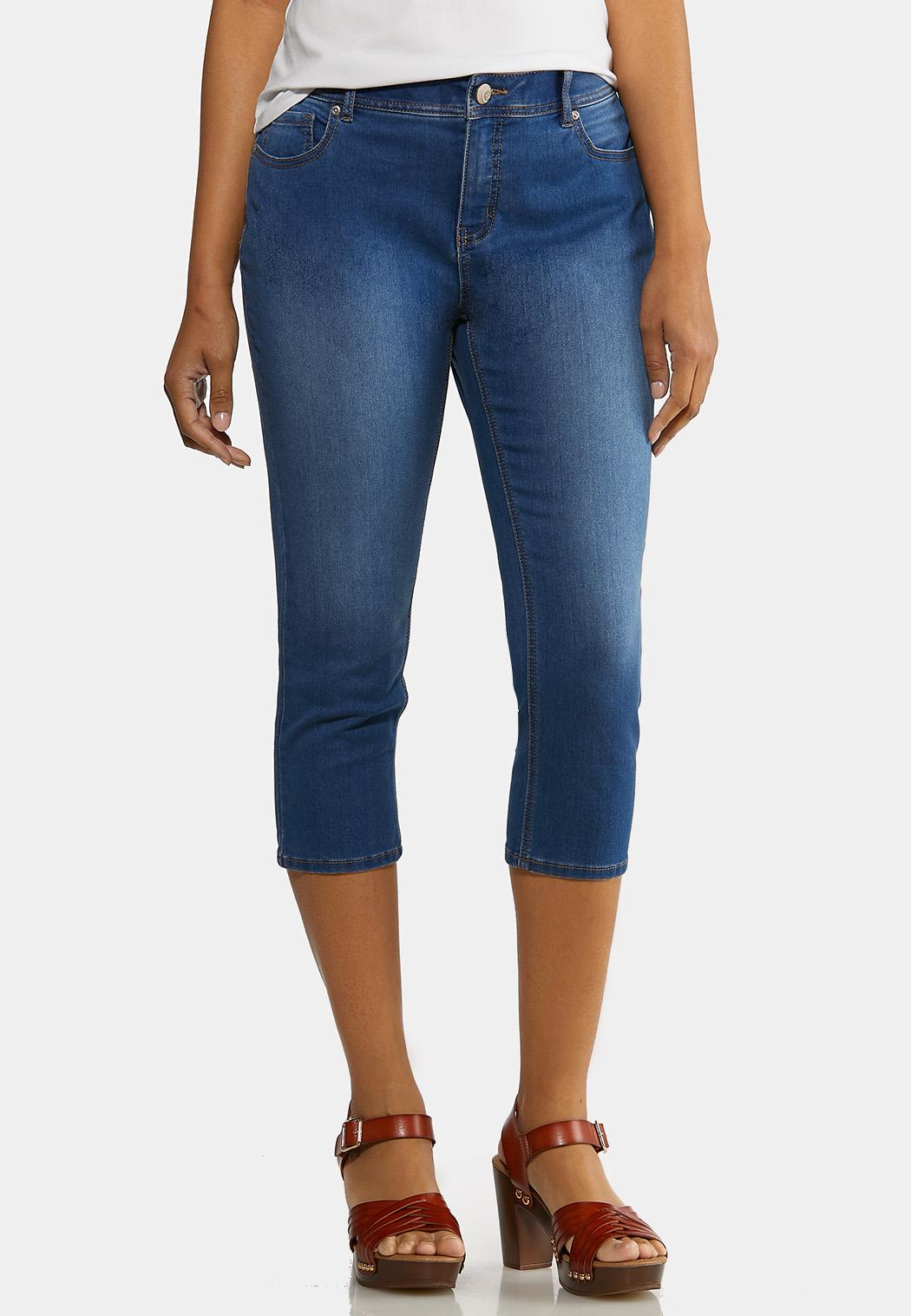 The Perfect Curvy Cropped Jeans