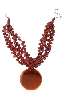 Chunky Layered Pendant Necklace