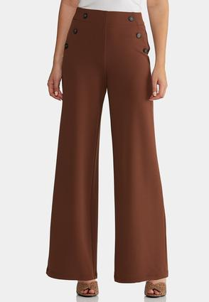 High- Rise Trouser Pants