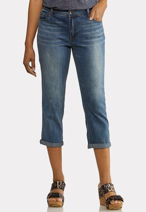 Cropped Curvy Girlfriend Jeans