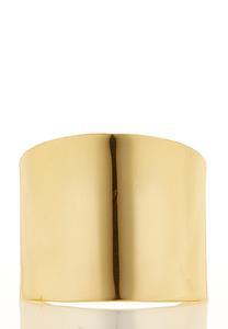 Gold Metal Statement Cuff Bracelet