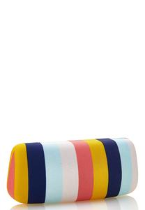 Stripe Sunglasses Case